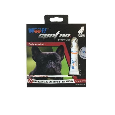 accesorio para mascotas woof pipeta monodosis perros 20kg