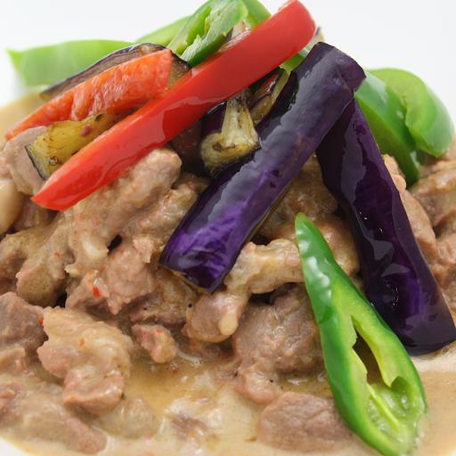 Pork Bicol Express Rice Combo