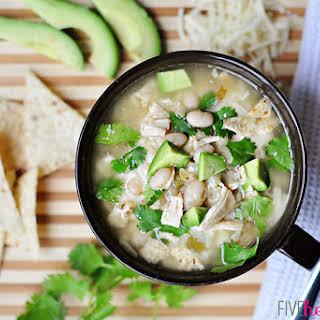 White Bean Chicken Chili With Salsa Recipes.