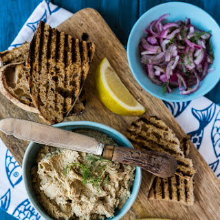 Mackerel Pate with Quick Pickled Red Onion Recipe