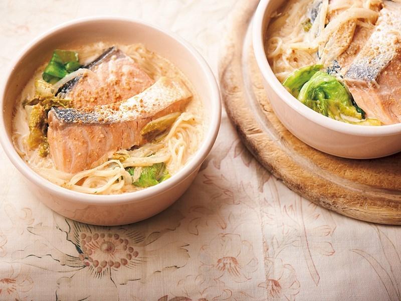 寒暖差の冷えはあったか麺で温活 隠し味はみそ ミルクにゅうめん 簡単レシピ Trill トリル