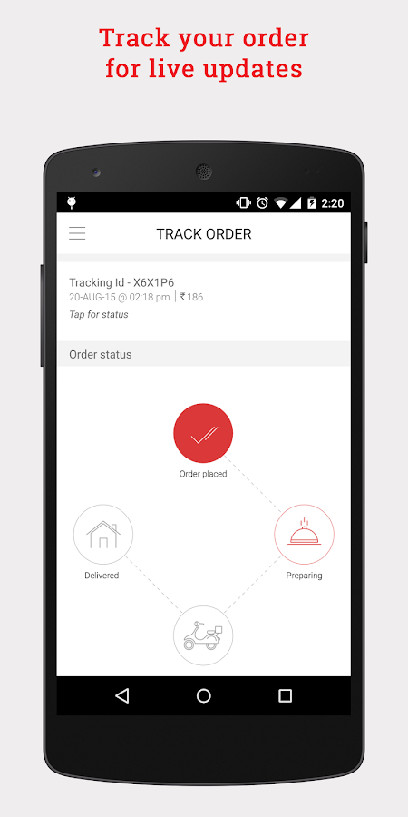 Box8 - Food Delivery- screenshot