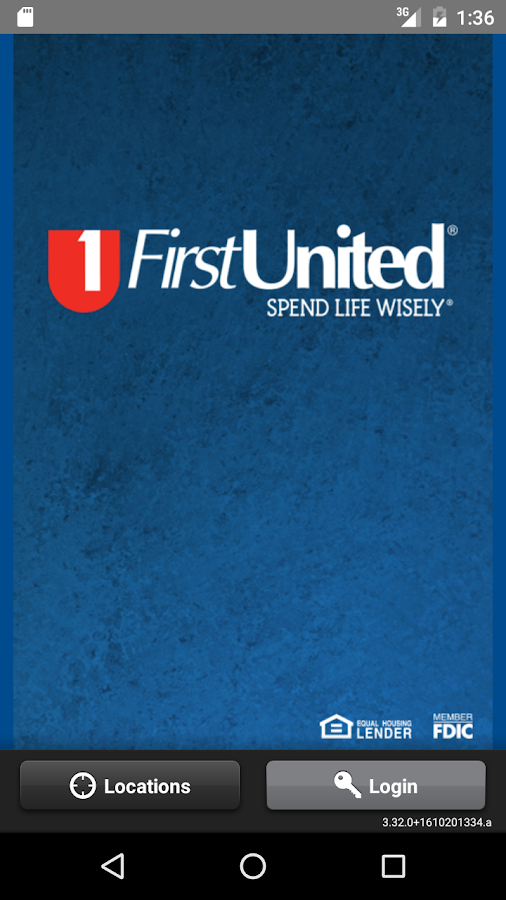 First United Bank Treasury App- screenshot