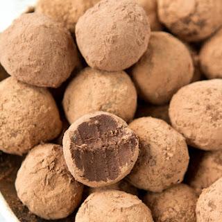 Dark Chocolate Truffles.