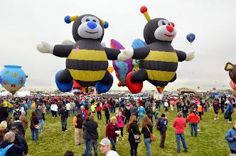 Photo: Bees balloons