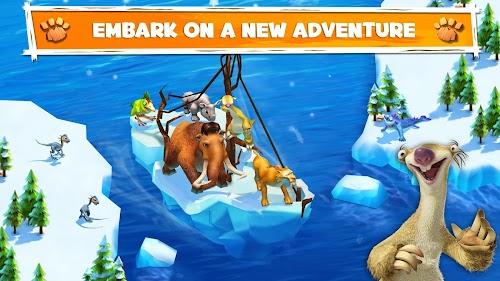 Screenshot 1 Ice Age Adventures 2.0.8d APK MOD