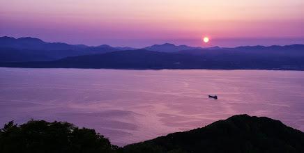 Photo: Summer night sky atop Mt. Hakodate, Hakodate, Hokkaido; photo by RS Reynolds (Twitter: @RSR_travel)