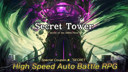 Secret Tower 500F (Super fast growing idle RPG) apktram screenshots 8