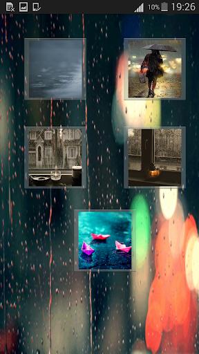 Rain Magic Live Wallpaper