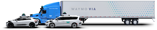 Waymo vehicles