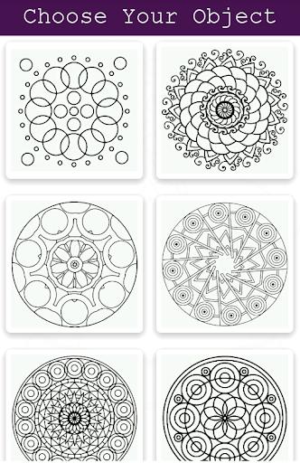 Mandala Coloring Book 2018