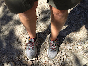 Photo: I hiked in running shoes for the first time.  They worked out very well.  My feet were in far better shape than any of my hikes in boots.  No blisters!