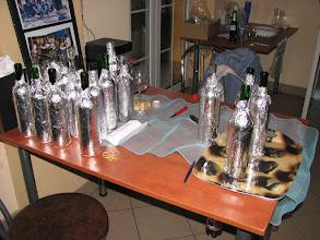 Photo: Butelki stają w szeregu do konkursu