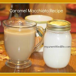 Copycat Starbucks Caramel Macchiato