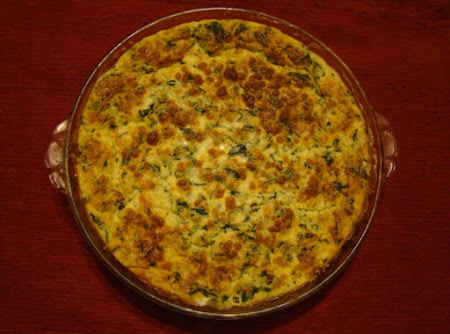 Gail's Yummy Spinach Casserole Recipe