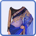 Women Saree Photo Suit icon