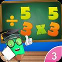 3rd Grade Math-Multiplication icon