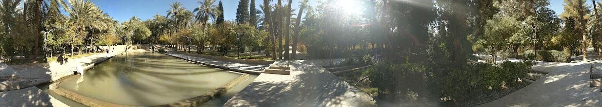 Photo: Golshan Garden, Tabas