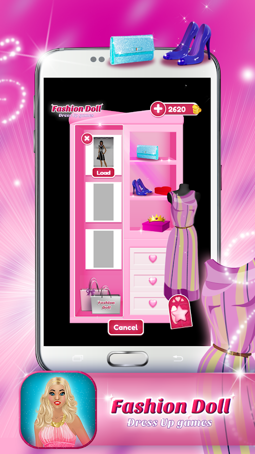 Fashion Makeover Shopping Games