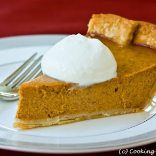 Classic Pumpkin Pie with Maple Cream