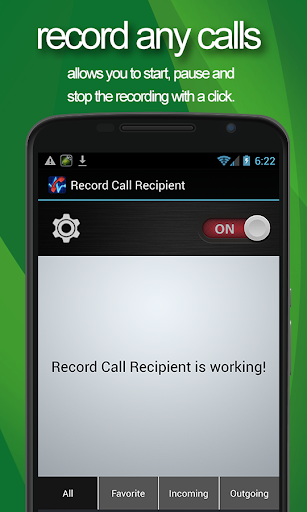 Record Call Recipient