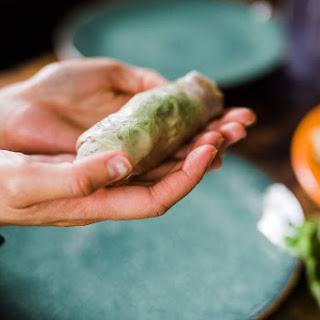 Traditional Vietnamese Spring Rolls.