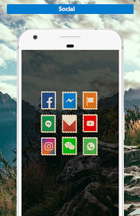 Postamp - Icon Pack Screenshot