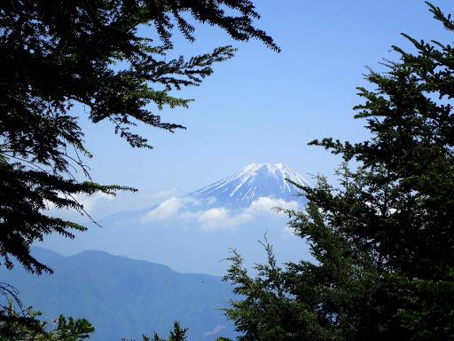 喜望峰から富士山