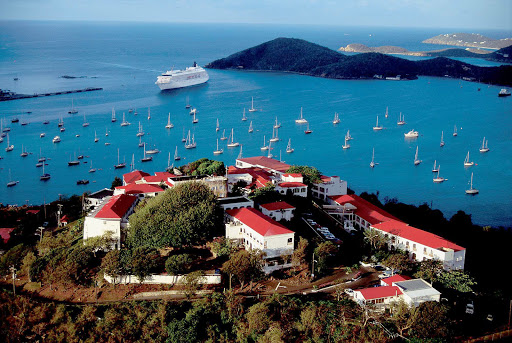 Visit St. Thomas in the U.S. Virgin Islands in style aboard Crystal Symphony.