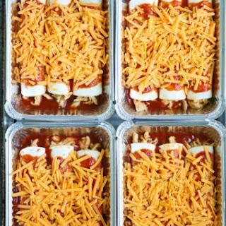 Freezer Chicken Enchiladas.