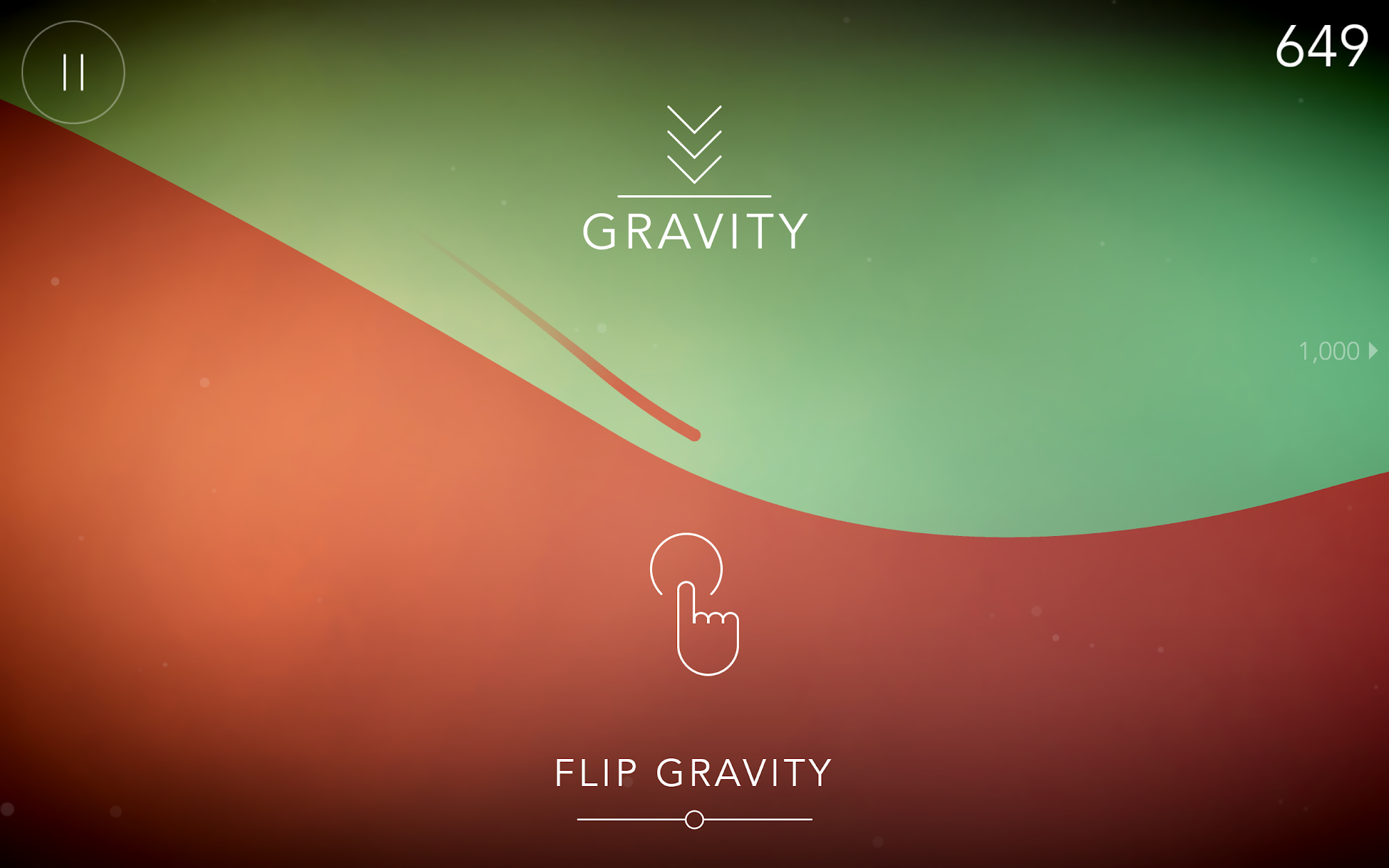 FLO Game - Free challenging infinite runner screenshot #2
