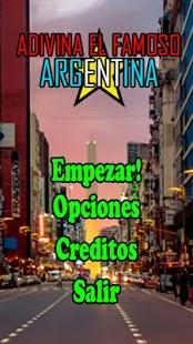 Adivina el famoso ARGENTINA - náhled