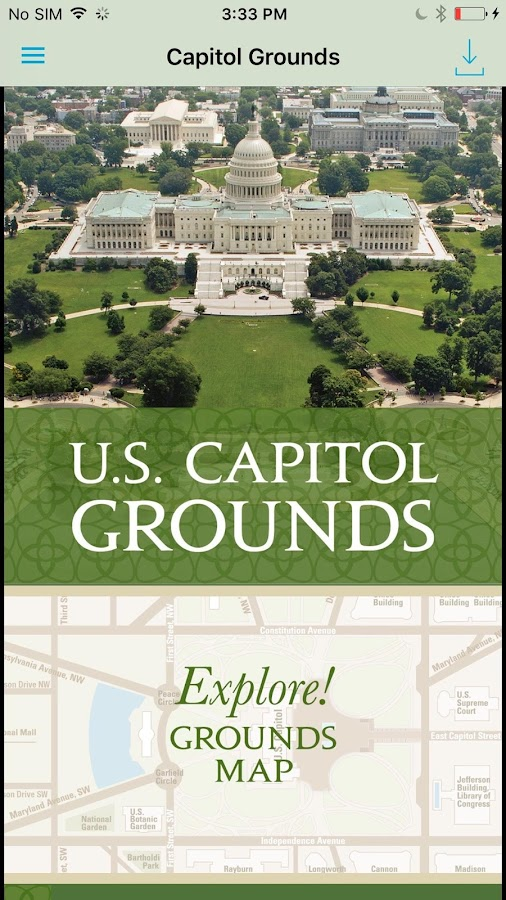 US Capitol Grounds Android Apps On Google Play - Map of us capitol grounds