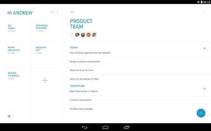 Task & To-do list - Any.do Screenshot 1
