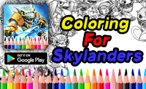 Coloring Book For Skylanders 2018 Mod Apk