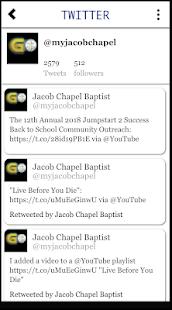 GO JACOB CHAPEL! - náhled
