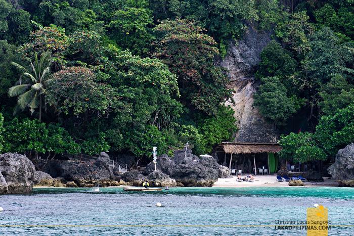 Boracay  Island Hopping Tour Balinghai Beach