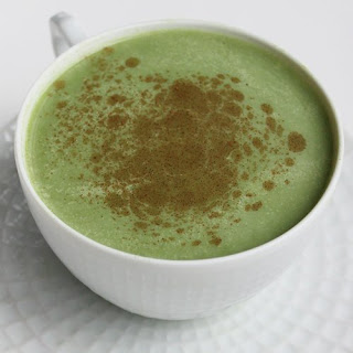 Sugar-Free Green Tea Latte