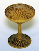 "Photo: Gary Guenther 3 1/2"" x 2 1/4"" Sculpture ""Bug Off"" [osage orange]"