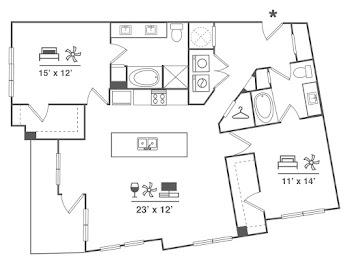 Go to B8 Floorplan page.