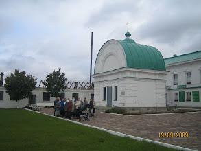 Photo: У часовни Святой Троицы (место явления преподобному  Пресвятой Троицы)