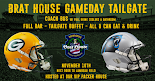 Green Bay vs Carolina 11/10/19 Lambeau Field VIP Tailgate Party Bus + Coach Bus