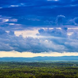 FOCO Skyline by James Woodward - Landscapes Cloud Formations ( sky, georgia, blue, clouds, storms,  )