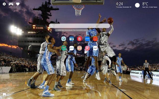 NCAA Basketball Wallpaper & Basketball Theme