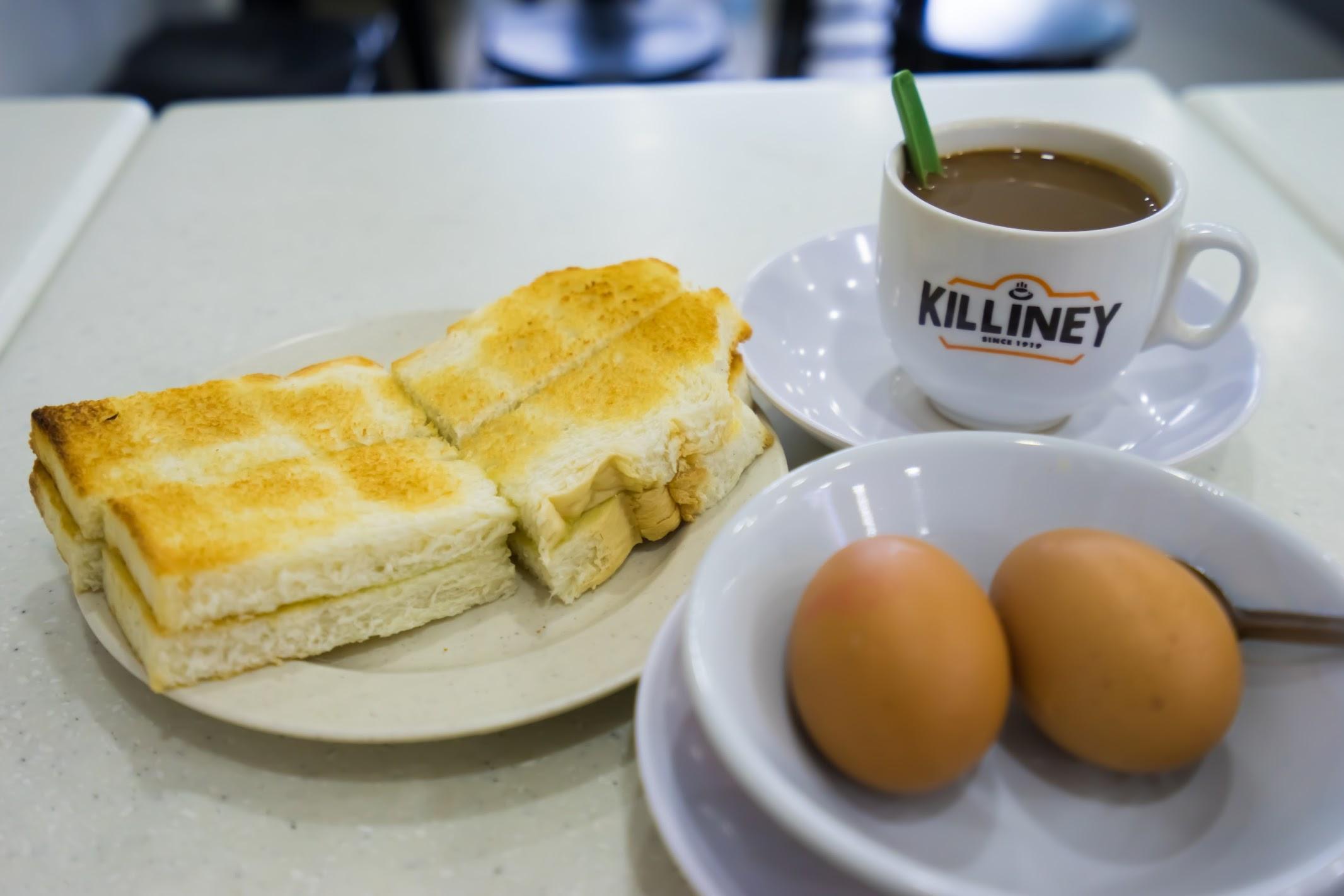 Singapore Killiney Kaya Toast