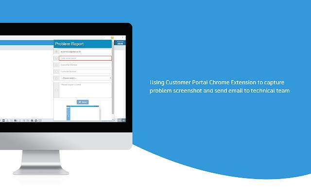 Customer Portal Chrome Extension