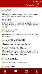 Spells Book & Quiz Harry Potter 3