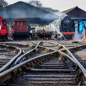 70000 by Martin Tyson - Transportation Trains