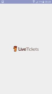 LiveTickets Scanner - náhled