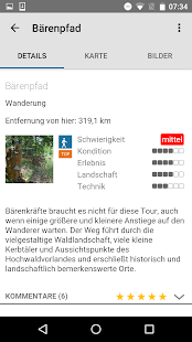 Saarland: Touren - App- screenshot thumbnail